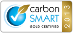 Carbon Smart Gold Certification Award 2013
