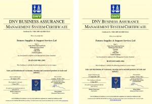 ISO 9001 & 14001 Certificates