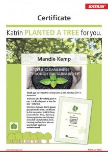 Katrin Tree Certificate