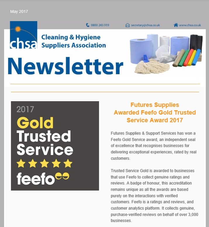 CHSA News - FEEFO Gold Trusted