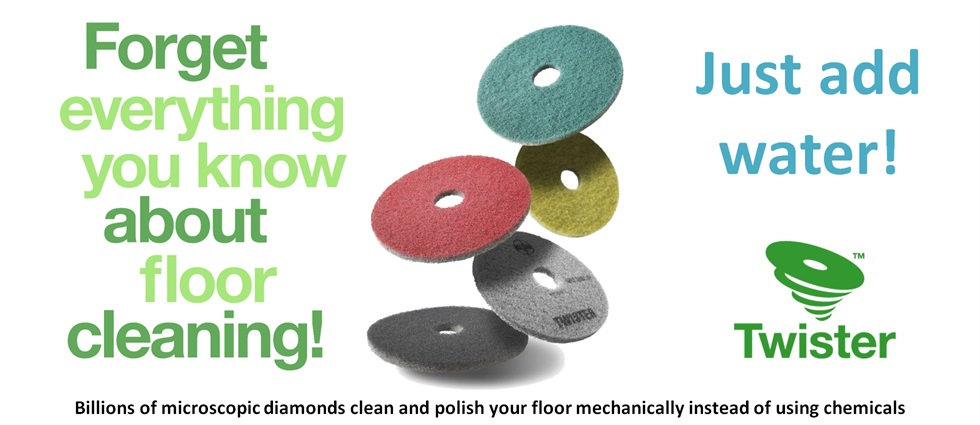 Twister Diamond Floor Pads