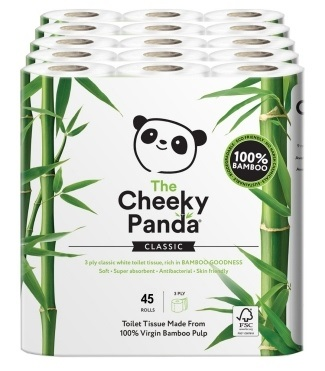 Cheeky Panda Bamboo Toilet Roll