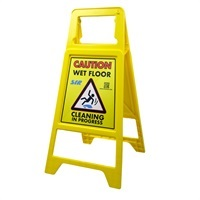 'Caution Wet Floor' Sign