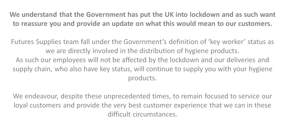UK Lockdown