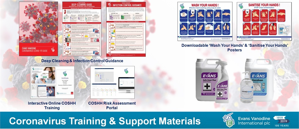 Coronavirus Training & Support Materials
