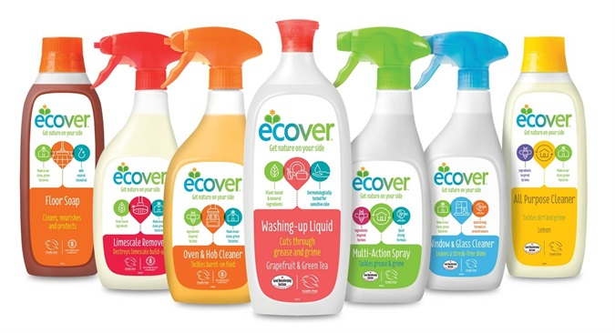 Ecover Cleaning Products Range