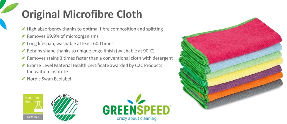 Greenspeed Original Microfibre Cloths