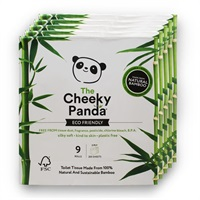 Click for a bigger picture.The Cheeky Panda Bamboo Toilet Roll Luxury 3Ply