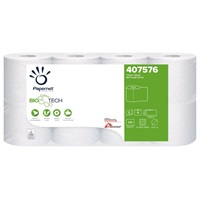 Click for a bigger picture.Papernet Biotech Toilet Roll 2ply White 407576